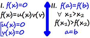 Как решаем уравнения